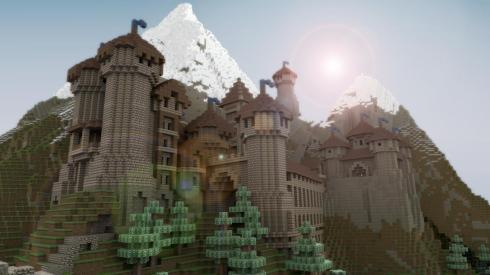 Beautiful Realistic Minecraft Castle